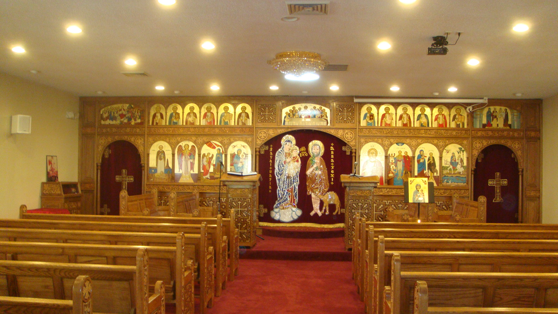 galleries and images st mary and st rewais coptic