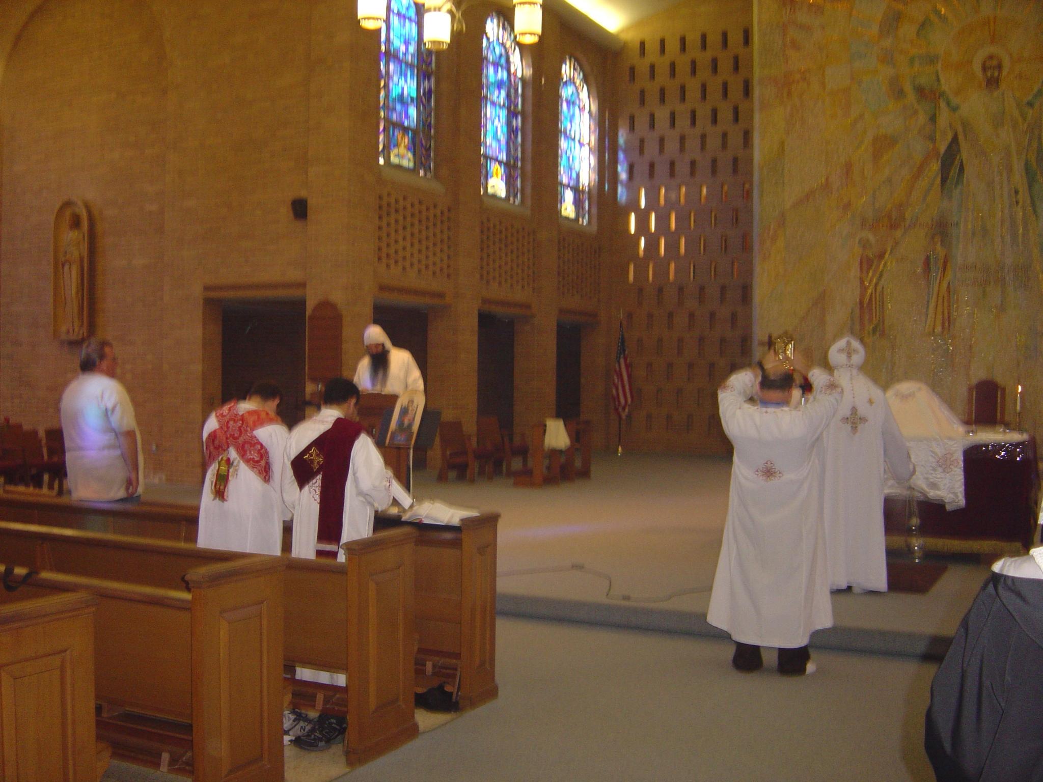 2010-09 Bishop David Visit